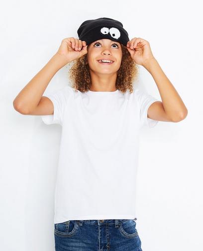 Schwarze Mütze Jungen 7-14